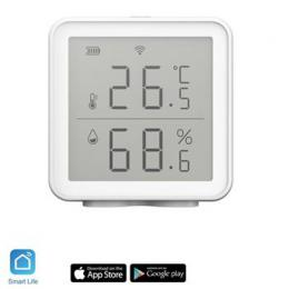 iQtech SmartLife TH01 Wi-Fi Senzor teploty a vlhkosti s displejem