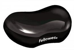 Podložka pod zápìstí Fellowes CRYSTAL gelová èerná
