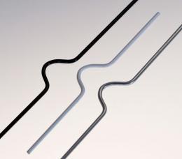 háèky RENZ 400 mm støíbrné 100 ks/bal