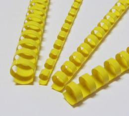 Plastové høbety 12,5 žluté