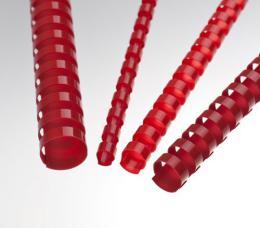 Plastové høbety 19 èervené