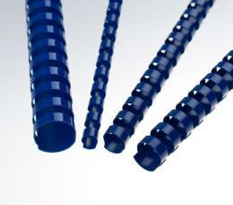 Plastové høbety 25 modré