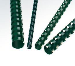 Plastové høbety 25 zelené