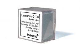 Krycí sklíèka Levenhuk G100, 100 ks