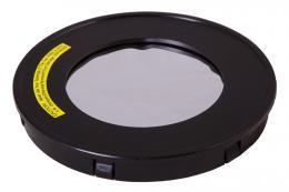 Sluneèní filtr Levenhuk pro zrcadlové teleskopy 102 mm
