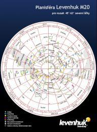 Velká mapa hvìzdné oblohy M20