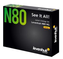 Sada preparátù a sklíèek Levenhuk N80 NG