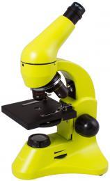 Mikroskop Levenhuk Rainbow 50L PLUS LimeLimetka