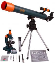 Sada mikroskopu a teleskopu Mikroskop LabZZ MT2  Hvìzdáøský Dalekohled a Mikroskop