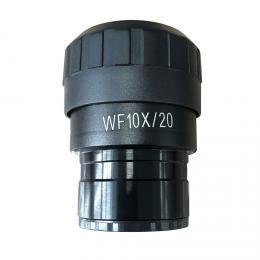 Okulár Levenhuk MED WF10x/20 s nitkovým køížem a møížkou