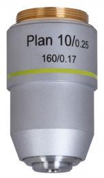 Rovinný achromatický objektiv Levenhuk MED 10x