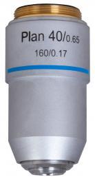 Rovinný achromatický objektiv Levenhuk MED 40x