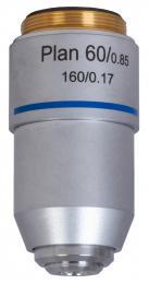 Rovinný achromatický objektiv Levenhuk MED 60x