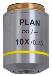 Rovinný achromatický objektiv s korekcí na nekoneèno Levenhuk MED 10x