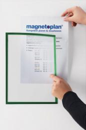 Magnetický rámeèek Magnetofix A4 modrá (5ks)
