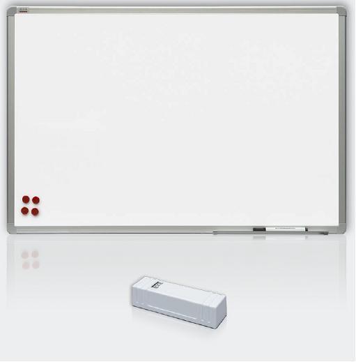 Magnetická tabule Premium 200x120 cm, rám ALU 23